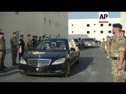 Prince Charles opens new Bahrain naval base