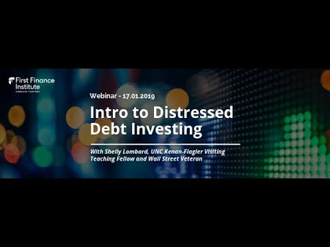 [Webinar] Intro To Distressed Debt Investing