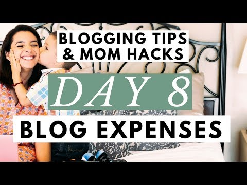 The Only Blogging Expenses You Should Have Right Now ● Blogging Tips & Mom Hacks Series Day 8