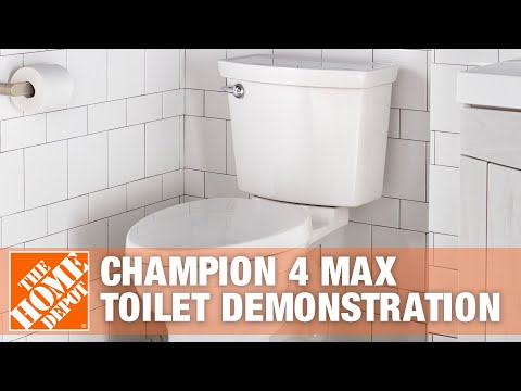 American Standard Champion 4 Max Toilet Demonstration | The Home Depot
