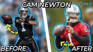 Before & After Injury Throwing Mechanics with Cam Newton