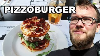 PIZZA + BURGER = PIZZOBURGER. Spróbowałem! | GASTRO VLOG #97