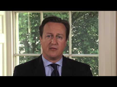 Ramadan 2013: message from David Cameron