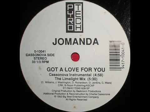 JOMANDA - GOT A LOVE FOR YOU (LIMELIGHT MIX)  1992