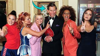 When The Spice Girls Met Prince Charles, They Brok-e Royal Protocol In The Cheekiest Way
