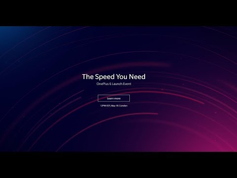 [LIVE] OnePlus 6 - The Speed You Need Live Launch Event | Live from London