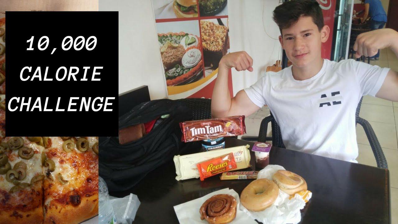 10K CALORIES (FOOD CHALLENGE)