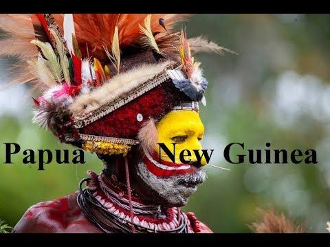 Papua New Guinea in tropical  (Pacific) Ocean/Goroka Festival Part 1