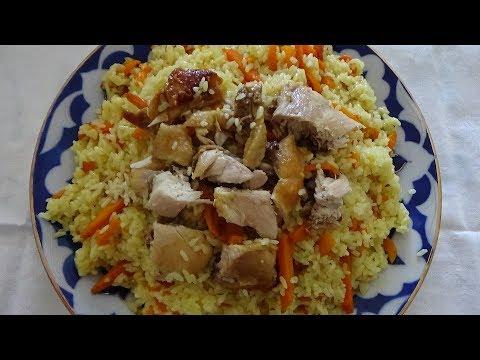вкусный плов из курицы в мультиварке рецепт пошагово