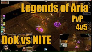 Legends of Aria (Ultima Online 2) | Dungeon PvP | DoK vs NITE | Winner Take All