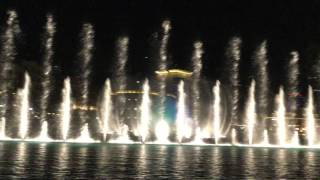 Dubai Mall Fountains - Michael Jackson, Thriller