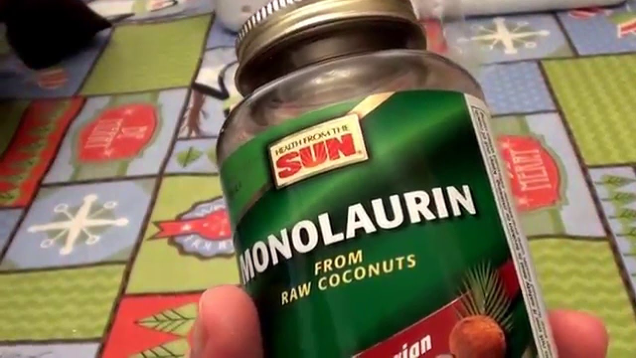 Monolaurin from Raw Coconuts Health from the Sun Capsules REVIEW