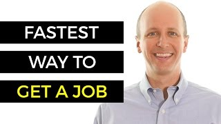 Job Hunting Tips - Fastest Way To Get A Job