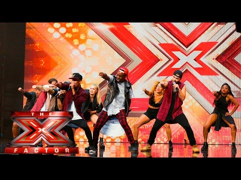 The First Kings are too hot! | Auditions Week 1 |  The X Factor UK 2015