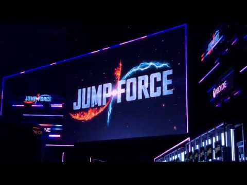 Jump Force E3 Crowd Reaction! - E3 2018