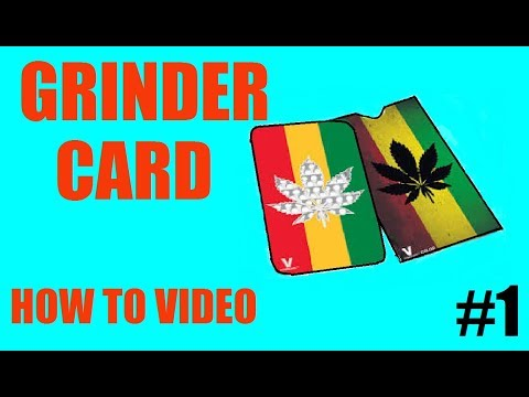How To Make A Grinder Card Easy Youtube