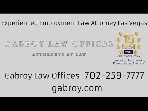 Experienced Employment Law Attorney Las Vegas