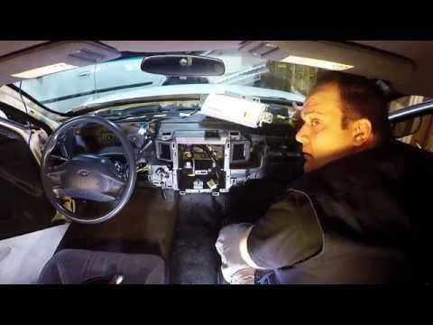 Impala Dashboard Disassembly - 8th Gen W-Body