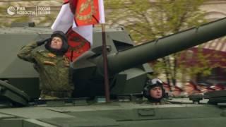 Парад Победы 9 мая в Москве на Красной площади