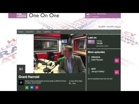 The Royal Butler on BBC Radio Leeds