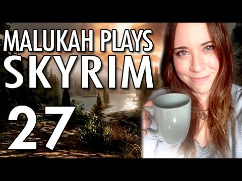 Malukah Plays Skyrim - Ep. 27: Tech Glitches and a Horsey