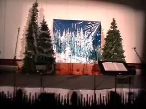 """Christmas in Black and White"" -- Trinity Oaks Christian Academy"