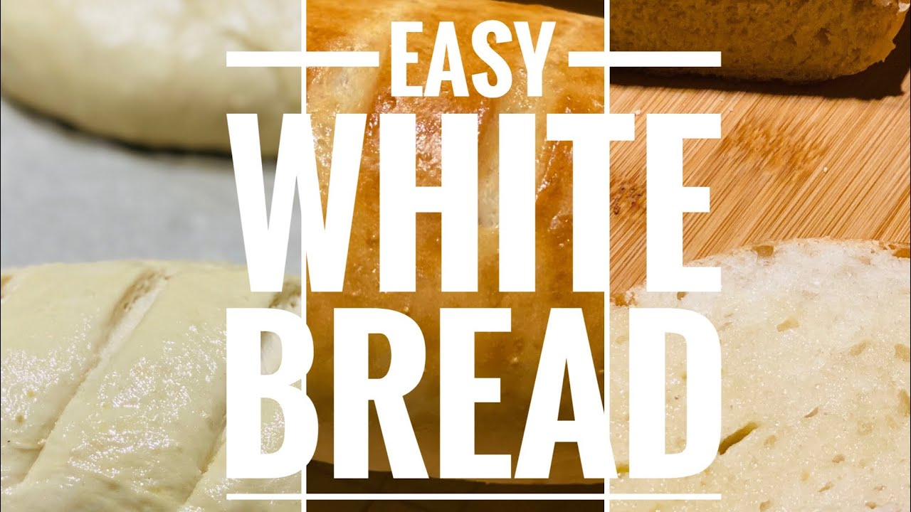 Easy White Bread Recipe.Eggless recipe.Instant yeast.Dry ...
