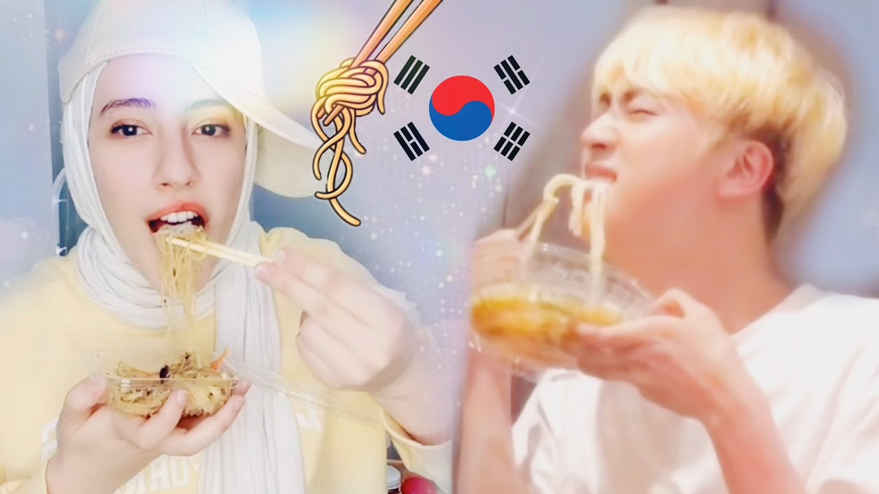 جربت الطعام الكوري 😋 | شيبس بطعم الموز 😱 #shorts