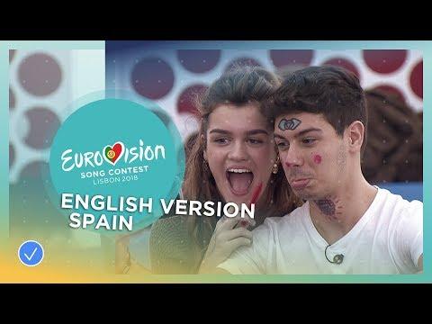 Amaia y Alfred - Your Song (Tu Canción) - English Version - Spain - Eurovision 2018