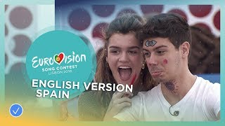Amaia y Alfred - Your Song (Tu Canción) - English Version - Spain - Eurovision 2018