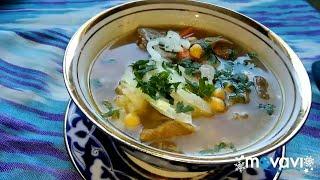 СУП C НУТОМ . Безумно вкусный суп с нухатом #Узбекская #кухня.  #sopa #вкусняшки #суп #soup