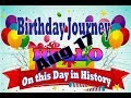 Birthday Journey August 17 New
