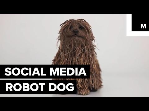This creepy robot pup looks just like Zuckerberg's dog
