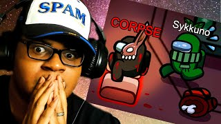REACTING TO CORPSE 666 IQ Best Among Us IMPOSTER Plays!