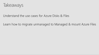 Azure Managed Disks and Files: Great additions to your storage IT toolkit on Azure