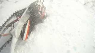 2012 Arctic cat M8 sno pro crash