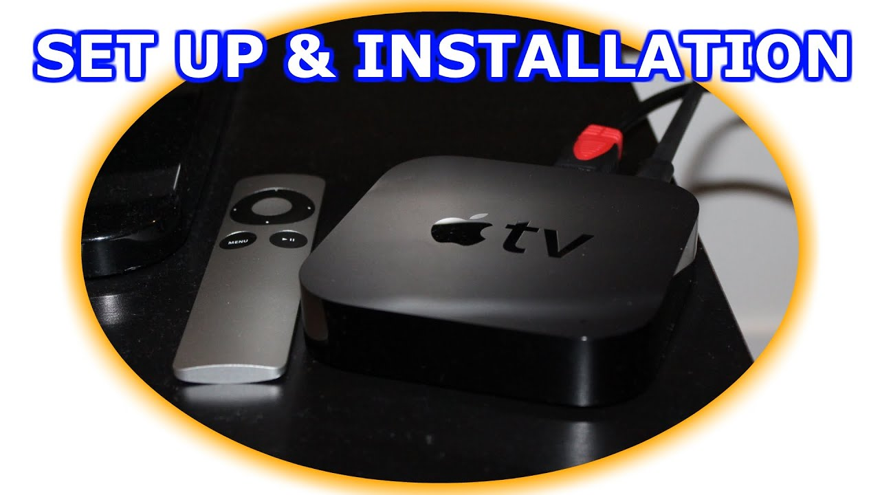 how to install and setup the apple tv [ 1280 x 720 Pixel ]