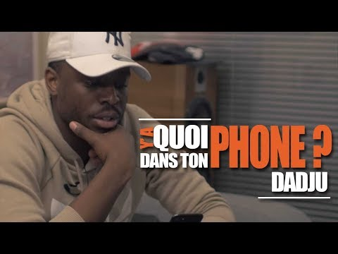 DADJU  : Sa Playlist Pour Y'a Quoi Dans Ton Phone?
