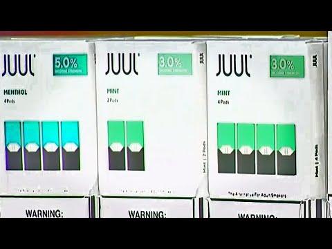 Juul Halts Sales Of Mint, Top-Selling E-Cigarette Flavor