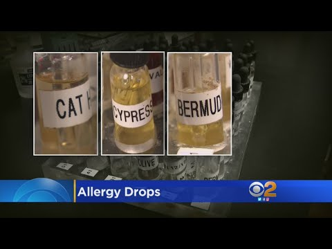 Allergy Drops Can Replace Some Shots And Pills