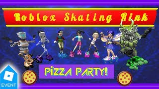 Roblox Skating Rink Pizza Party Live Stream