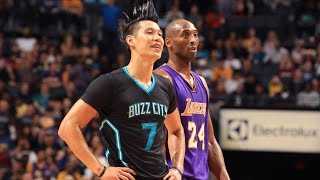 Jeremy Lin's Offense & Defense Highlights 2015-12-29 Hornets VS Lakers