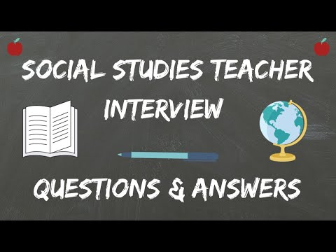 Social Studies Teacher Interview Questions & Answers