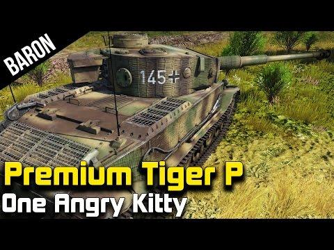 War Thunder Tanks - Premium Tiger Porsche - Panzerbefehlswagen Tiger (P)