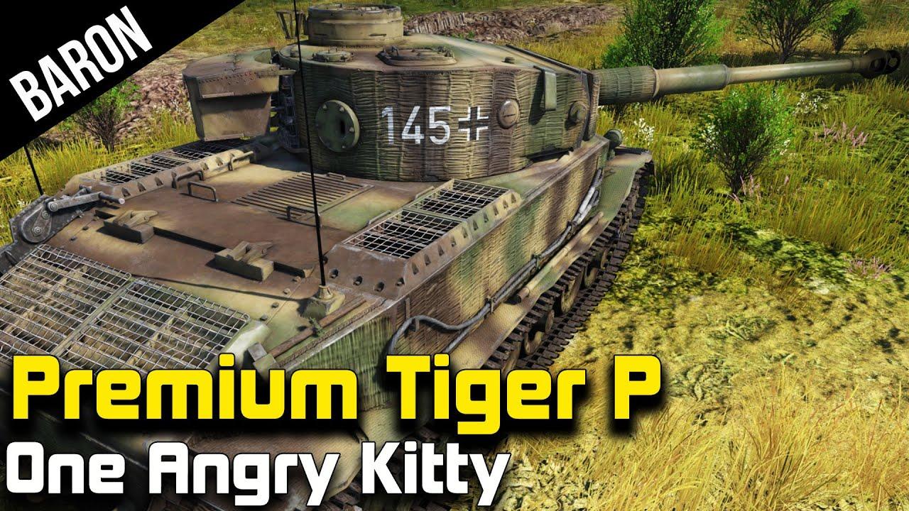 War Thunder Tanks Premium Tiger Porsche