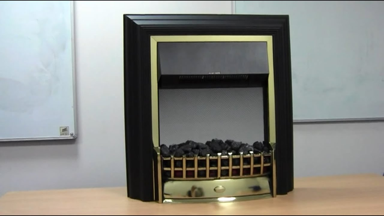 How to Change a Bulb in an Electric Fire by Dimplex - YouTube