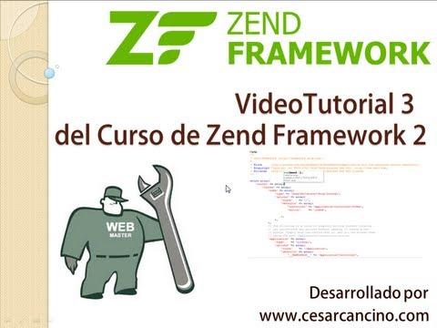 VideoTutorial 3 del Curso de Zend Framework 2 ( ZF2 ). Controladores y Vistas.