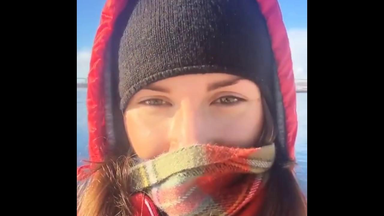 셀카찍는 안나 시도로바(Anna Sidorova) [인스타그램 스타] - YouTube