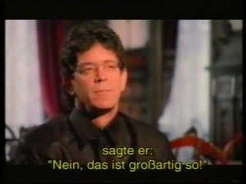 Lou Reed about Velvet Underground and Andy Warhol