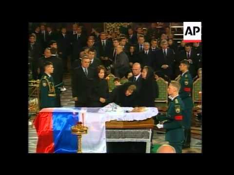 Russia - Former President Boris Yeltsin Dies